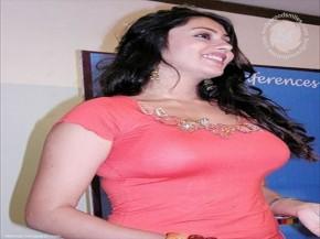 Namitha Pink Tops Hot Still