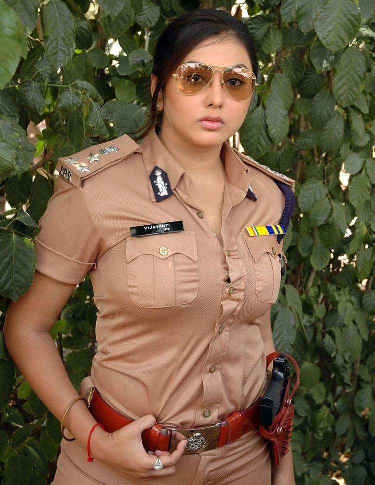 Namitha Police Dress Still