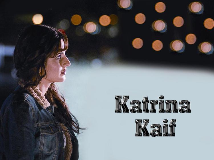 Katrina Kaif Side Face Glamour Wallpaper