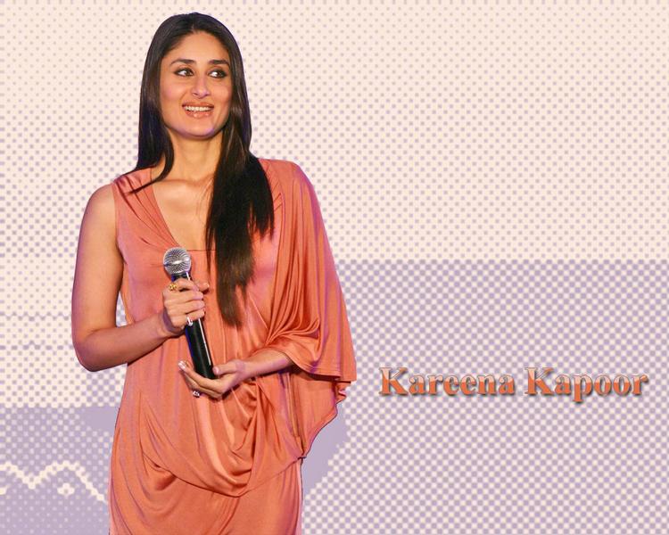 Bolly Beauty Queen Kareena Kapoor Wallpaper