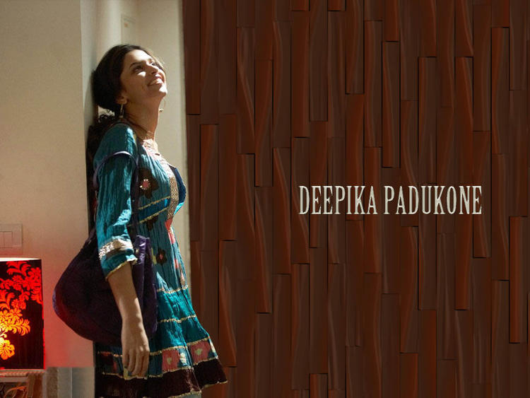Deepika Padukone With Cute Dress Wallpaper