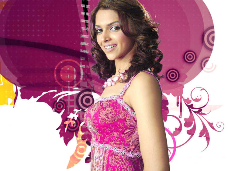 Dusky Beauty Deepika Padukone Sweet Look Wallpaper
