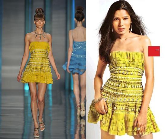 Freida Pinto Beautiful Dress Awesome Pic