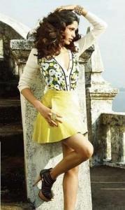 Freida Pinto Short Dress Hot Photo Shoot