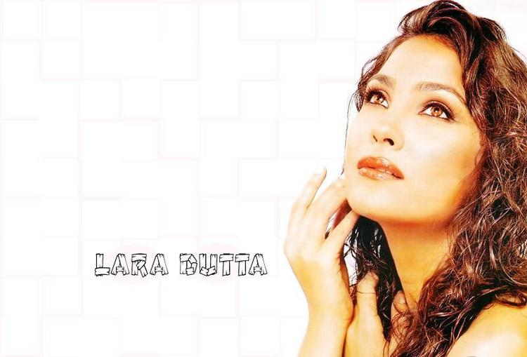 Lara Dutta Gorgeous Wallpaper With Curly Hair