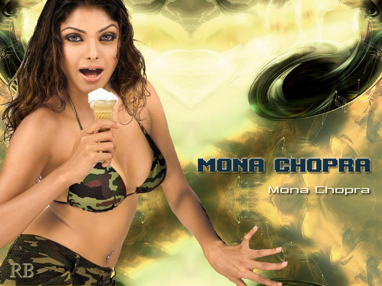 Mona Chopra Hot and Sexy Wallpaper