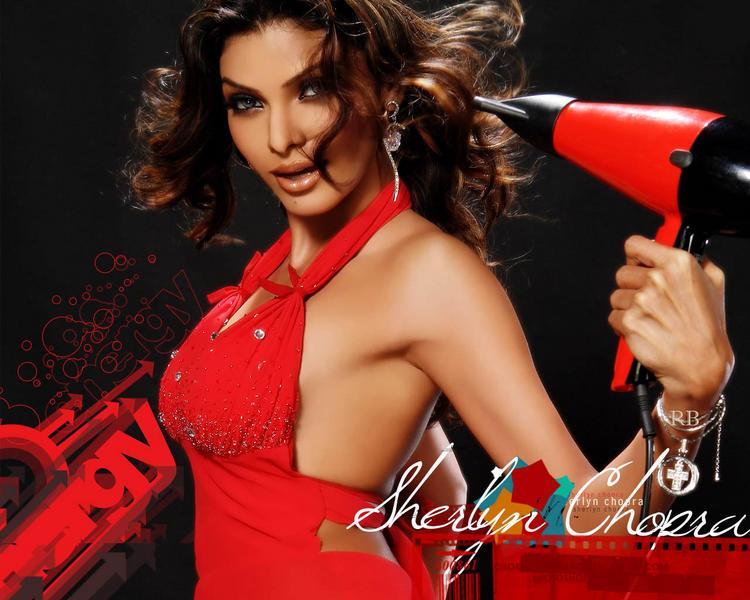 Mona Chopra Red Hot Wallpaper