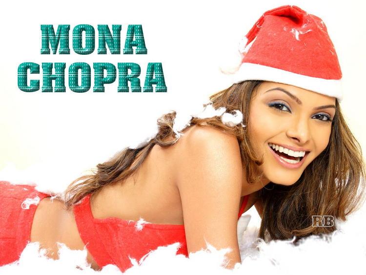 Mona Chopra Santa Claus Dress Sweet Wallpaper