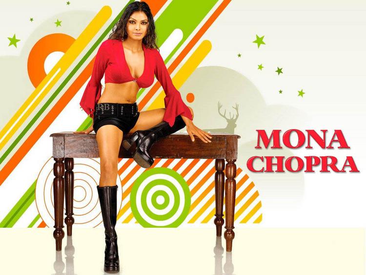 Mona Chopra Sexy and Hot Wallpaper