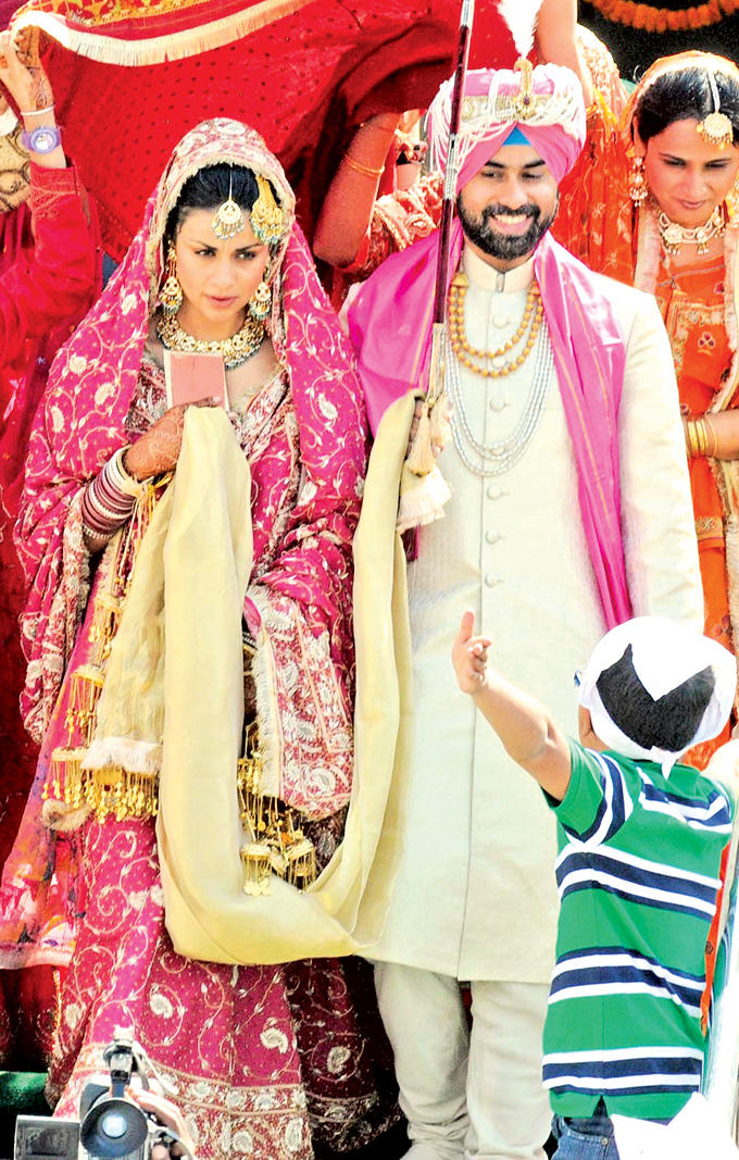 Gul Panag Marriage Photo