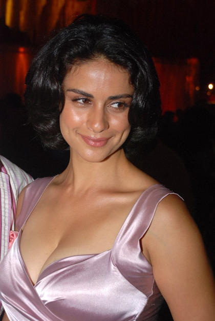 Gul Panag Sexy Cleavages Show Glamour Still
