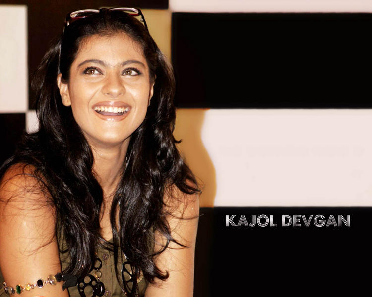 Kajol Devgan Gorgeous Smile Wallpaper