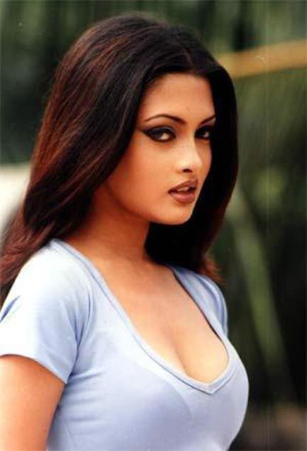 Riya Sen Stunning Face Look Wallpaper