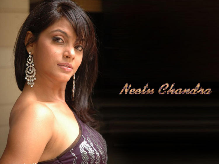 Glam Girl Neetu Chandra Wallpaper