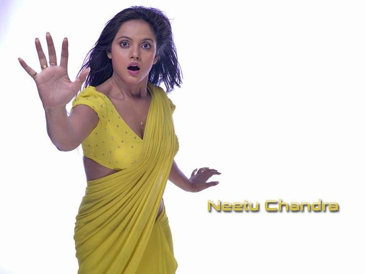 Neetu Chandra Acting Pose Wallpaper