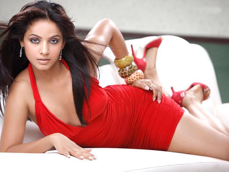 Neetu Chandra Hot Sexy Pose Wallpaper