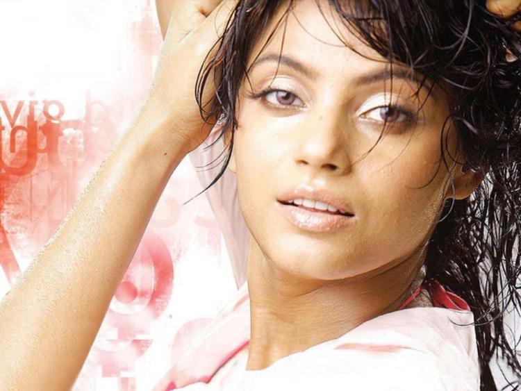 Neetu Chandra Sexy Face Look Wallpaper