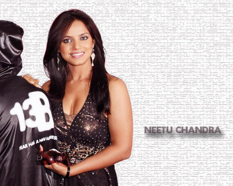 Neetu Chandra Sweet Gorgeous Wallpaper