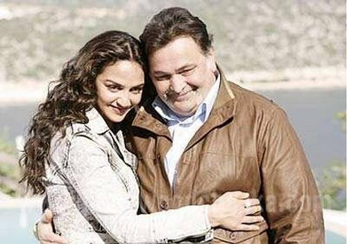 Esha Deol and Rishi In Tell Me Oh Khuda