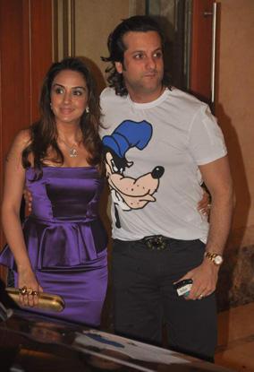 Fardeen Khan and Wife Natasha Glamour Pic