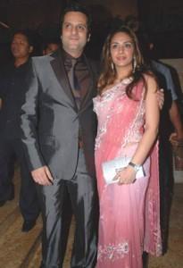 Fardeen Khan Latest Still With Wife Natasha
