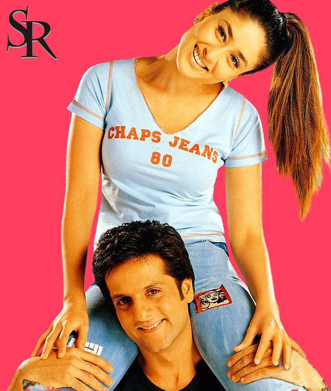 Kareena Kapoor and Fardeen Khan Latest Wallpaper