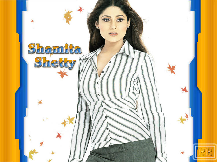 Glorious Shamita Shetty Wallpaper