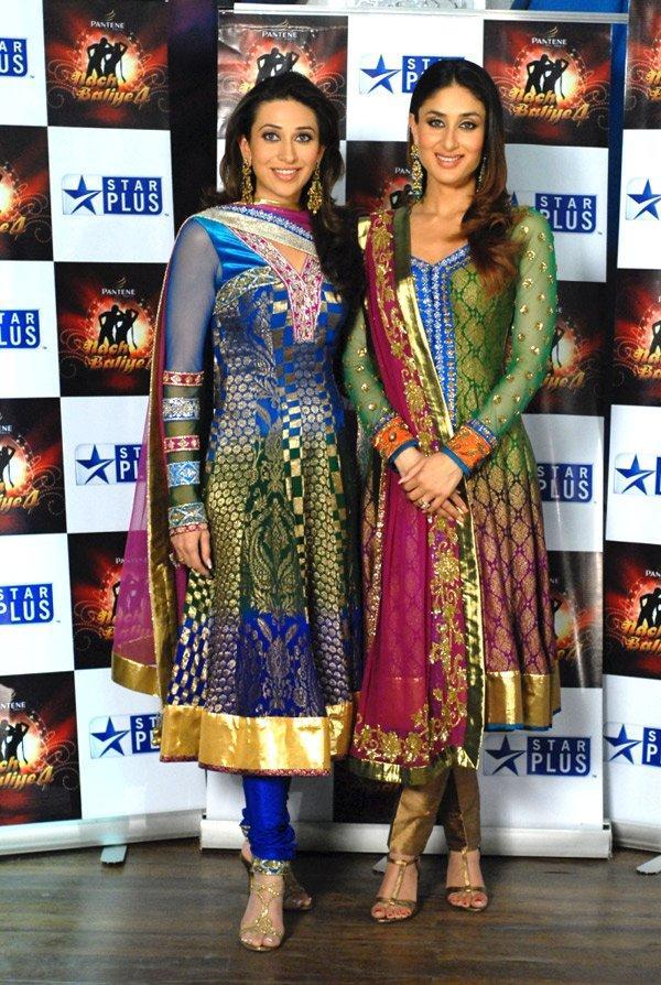 Karishma Kapoor and Kareena Beauty Still In Churidar