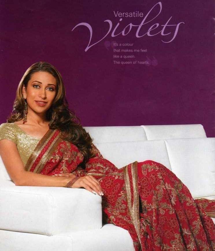 Karishma Kapoor In Gorgeous Saree Beauty Still