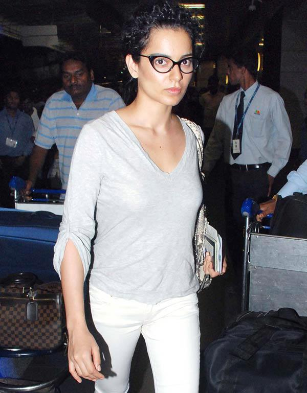 Kangana Ranaut Spotted at the Airport