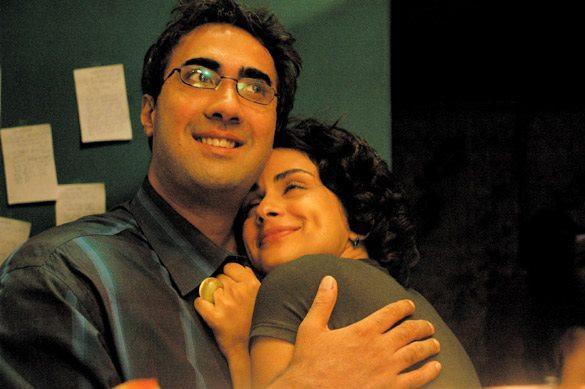 Gul Panag and Ranvir Shorey Romance Pic Fatso