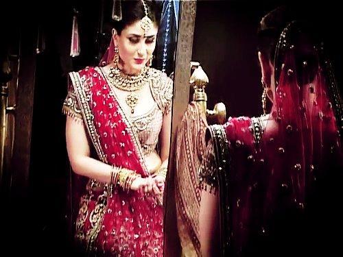 On the Sets of Kareena Kapoor's New Gitanjali Commercial