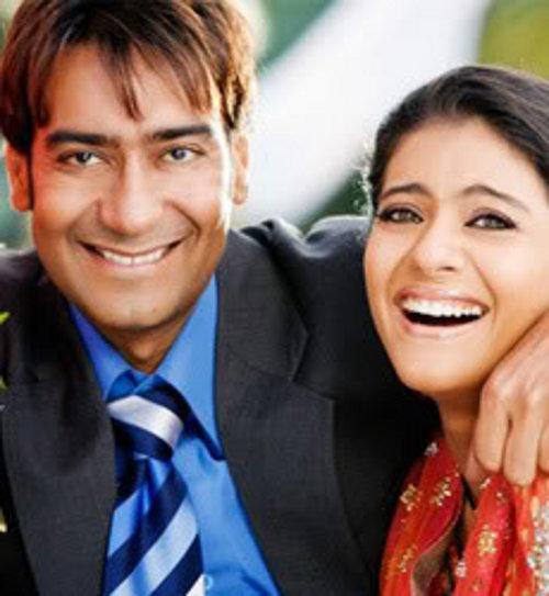 Ajay Devgan and Smiling Face Wallpaper