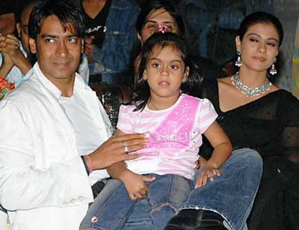 Ajay Devgan With Family
