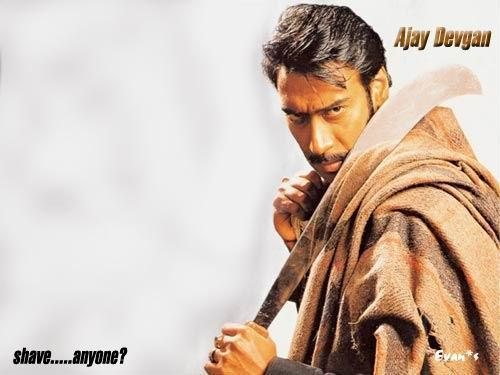 Ajay Devgan Hot Angry Look Wallpaper