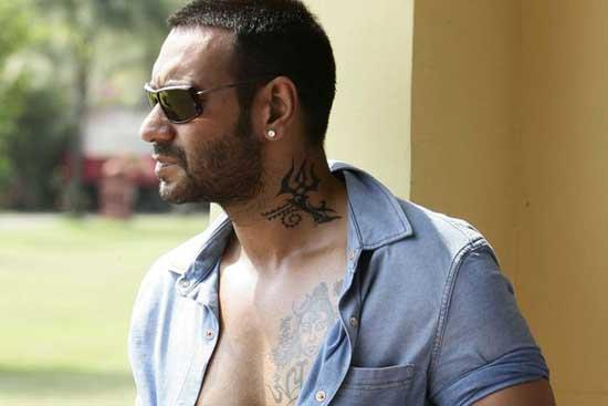Ajay Devgan Tatoo Still In Golmal 3