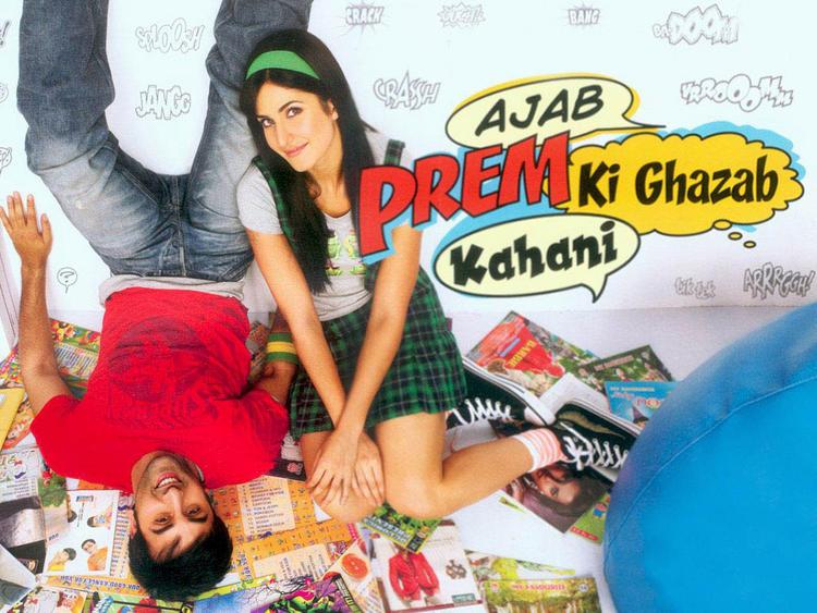 Katrina Kaif And Ranbir Kapoor Ajab Prem Ki Ghazab Kahani Wallpaper