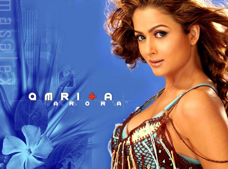 Amrita Arora Hot And Sexy Wallpaper