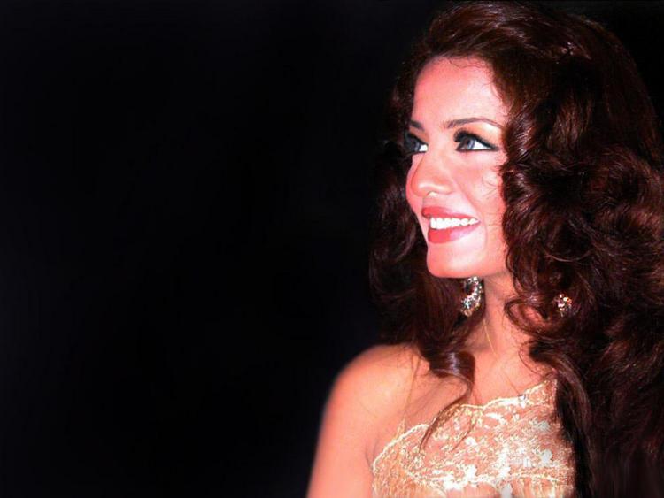 Celina Jaitley Gorgeous Smiling Face Wallpaper