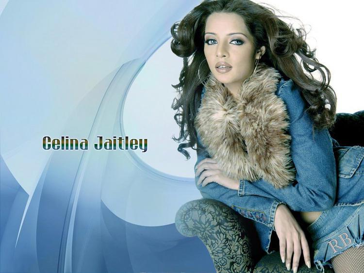 Celina Jaitley Sexy Look Wallpaper