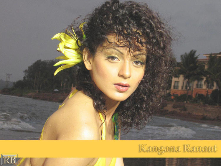 Kangana Ranaut Bold And Beautiful Wallpaper