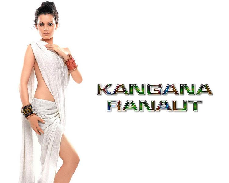 Kangana Ranaut Bold Wallpaper