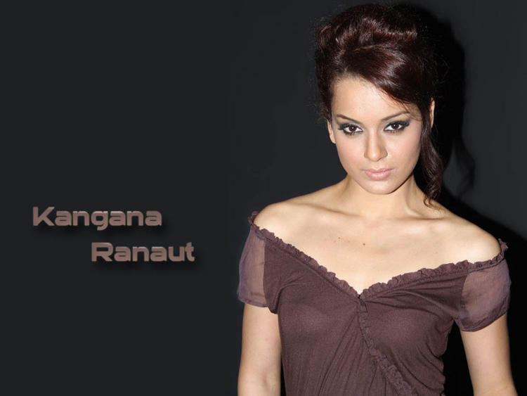 Kangana Ranaut Glorious Face Look Wallpaper