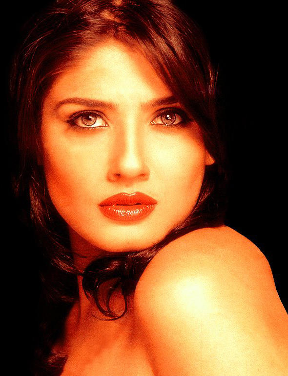Hot Raveena Tandon Hot Looking Wallpaper
