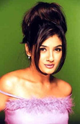 Raveena Tandon Beautiful Hair Style Wallpaper