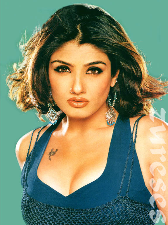 Raveena Tandon Charming Wallpaper