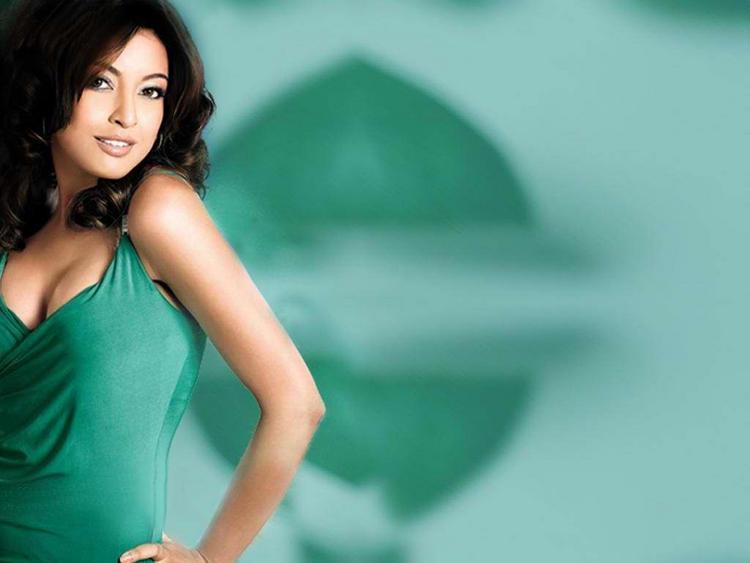 Tanushree Dutta Green Dress Wallpaper