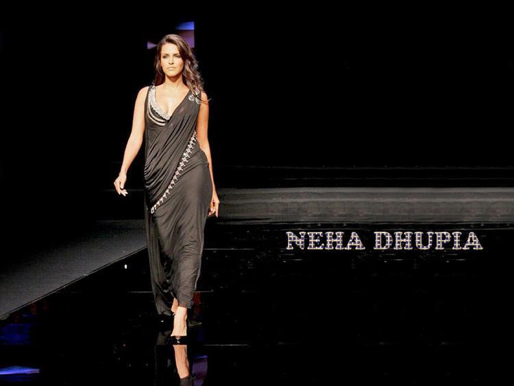 Neha Dhupia Latest Hot Wallpaper