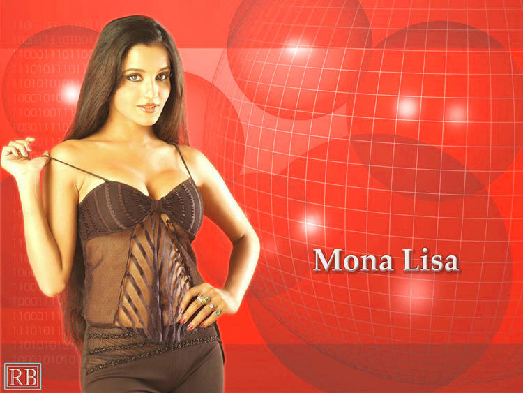 Mona Lisa Sexy Dress Hot Wallpaper