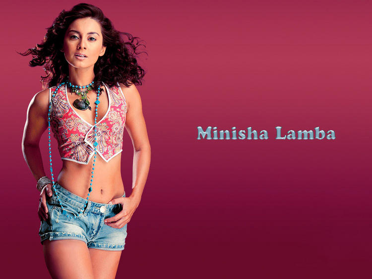 Minissha Lamba Mini Dress Hottest Wallpaper